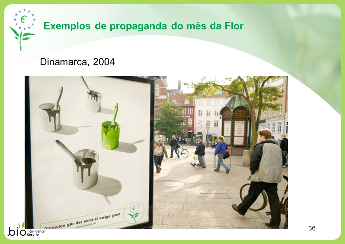 Exemplos de propaganda do mês da Flor