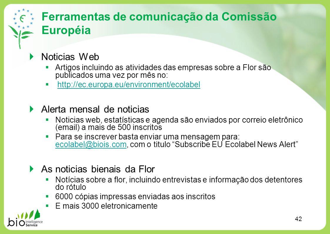 Ferramentas de comunicação da Comissão Européia