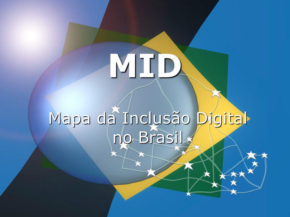 Mapa da Inclusão Digital no Brasil