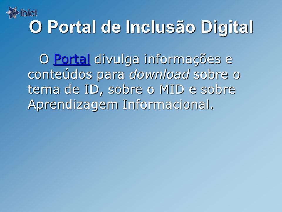 O Portal de Inclusão Digital