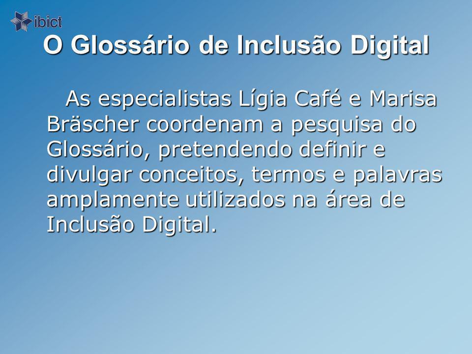 O Glossário de Inclusão Digital