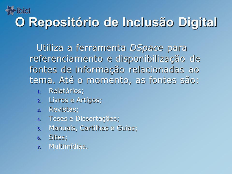 O Repositório de Inclusão Digital