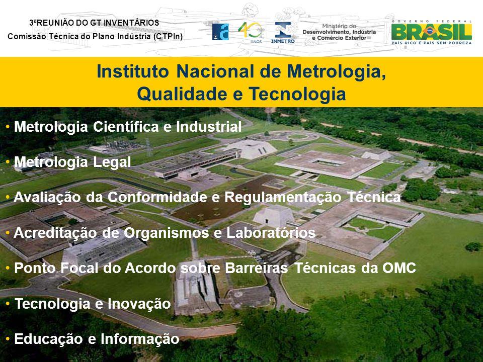 Instituto Nacional de Metrologia, Qualidade e Tecnologia