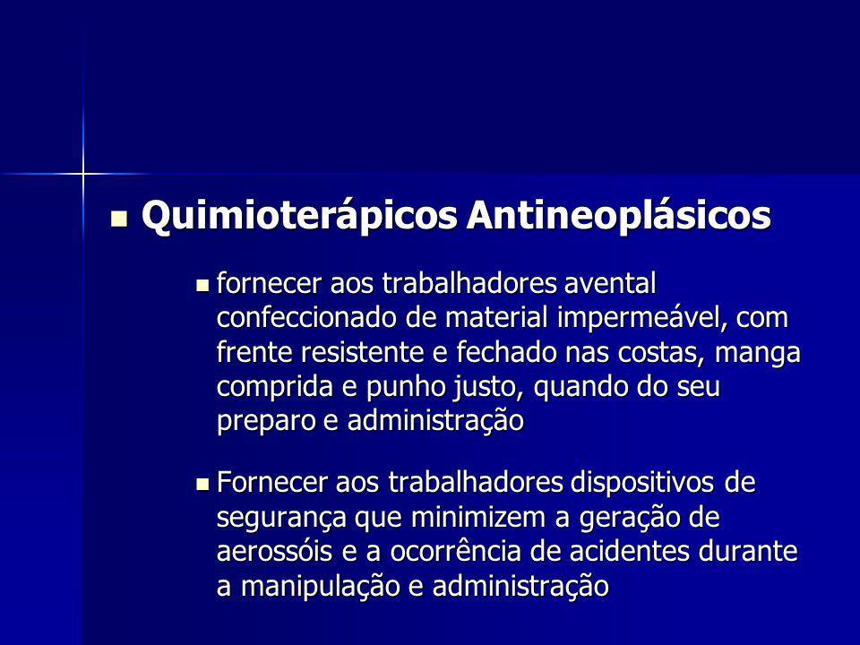 Quimioterápicos Antineoplásicos