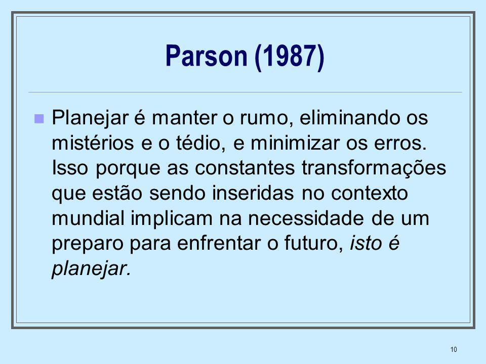 Parson (1987)