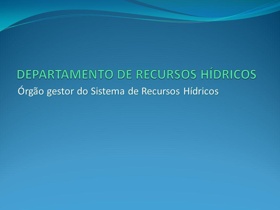 DEPARTAMENTO DE RECURSOS HÍDRICOS