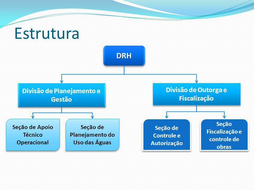 Estrutura DRH Divisão de Planejamento e Gestão