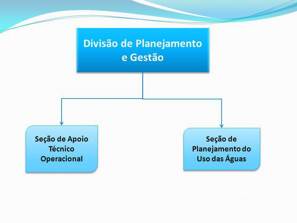 Divisão de Planejamento e Gestão
