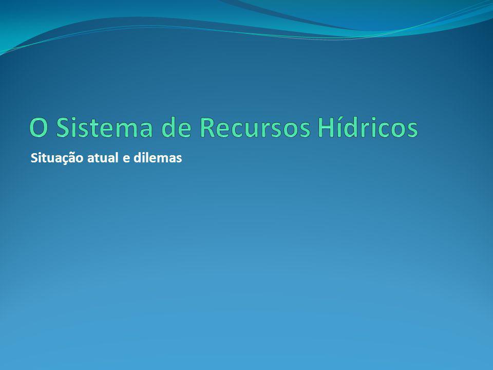 O Sistema de Recursos Hídricos
