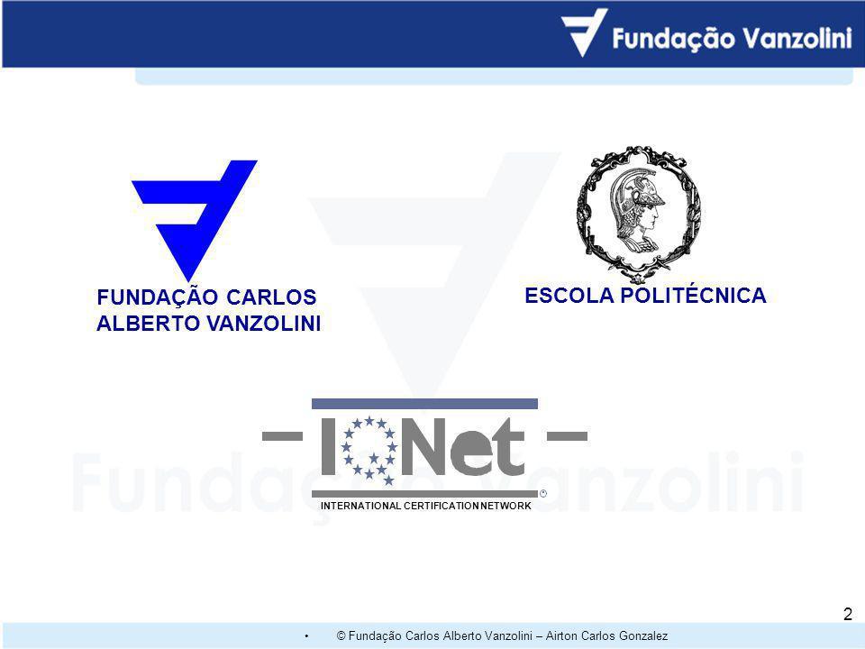 ESCOLA POLITÉCNICA FUNDAÇÃO CARLOS ALBERTO VANZOLINI