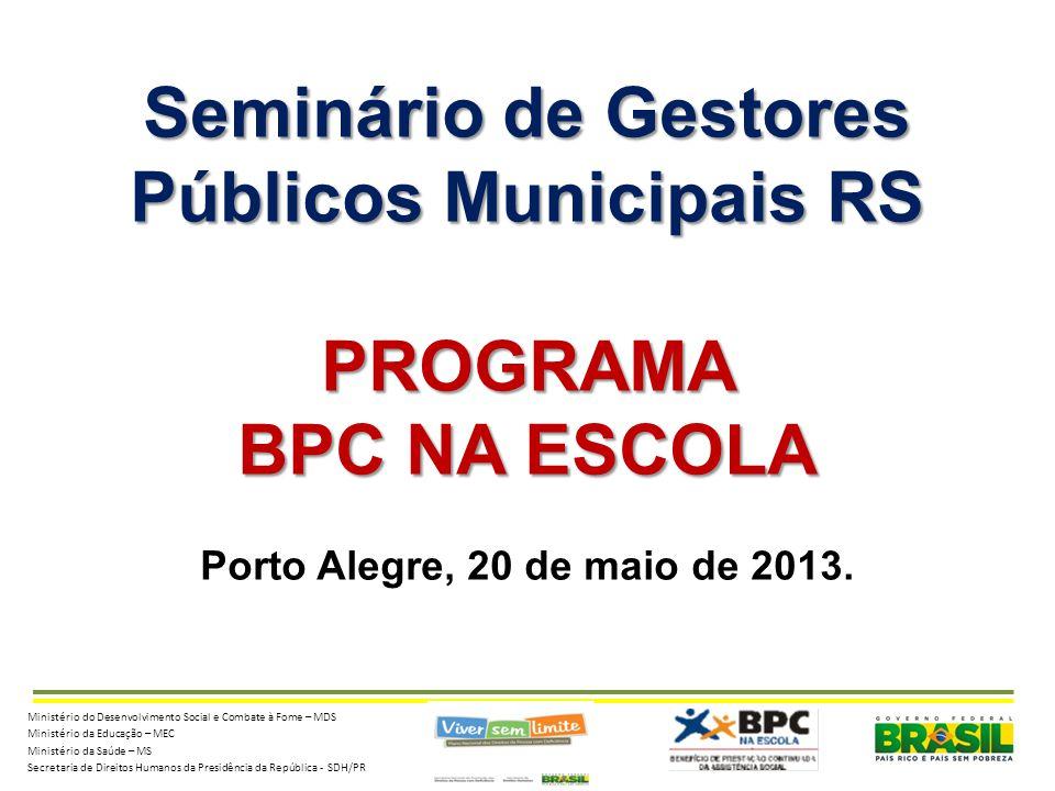 Públicos Municipais RS