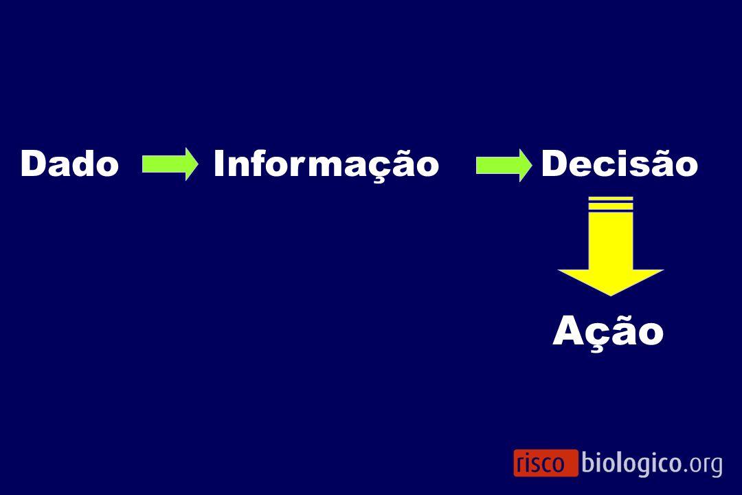Dado Informação Decisão Ação