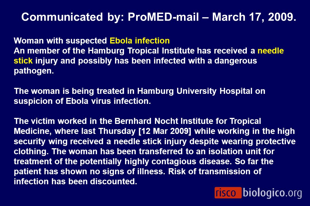 Communicated by: ProMED-mail – March 17, 2009.