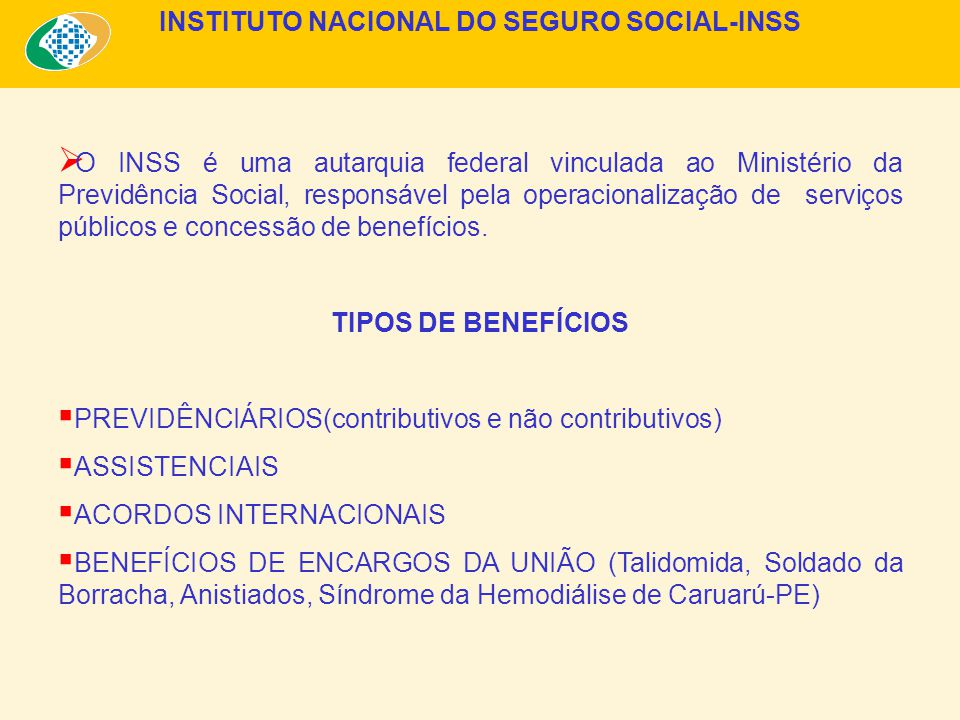 INSTITUTO NACIONAL DO SEGURO SOCIAL-INSS
