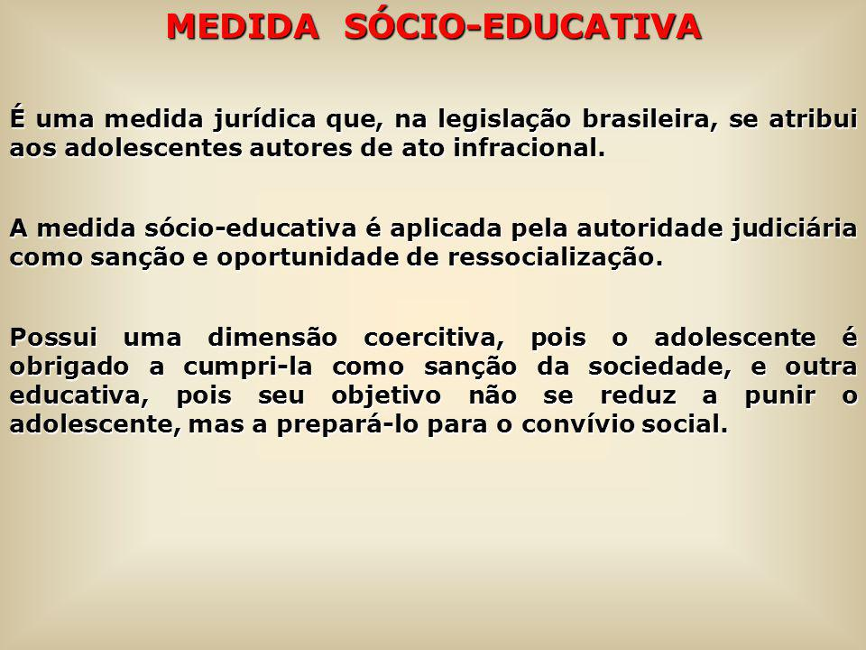 MEDIDA SÓCIO-EDUCATIVA