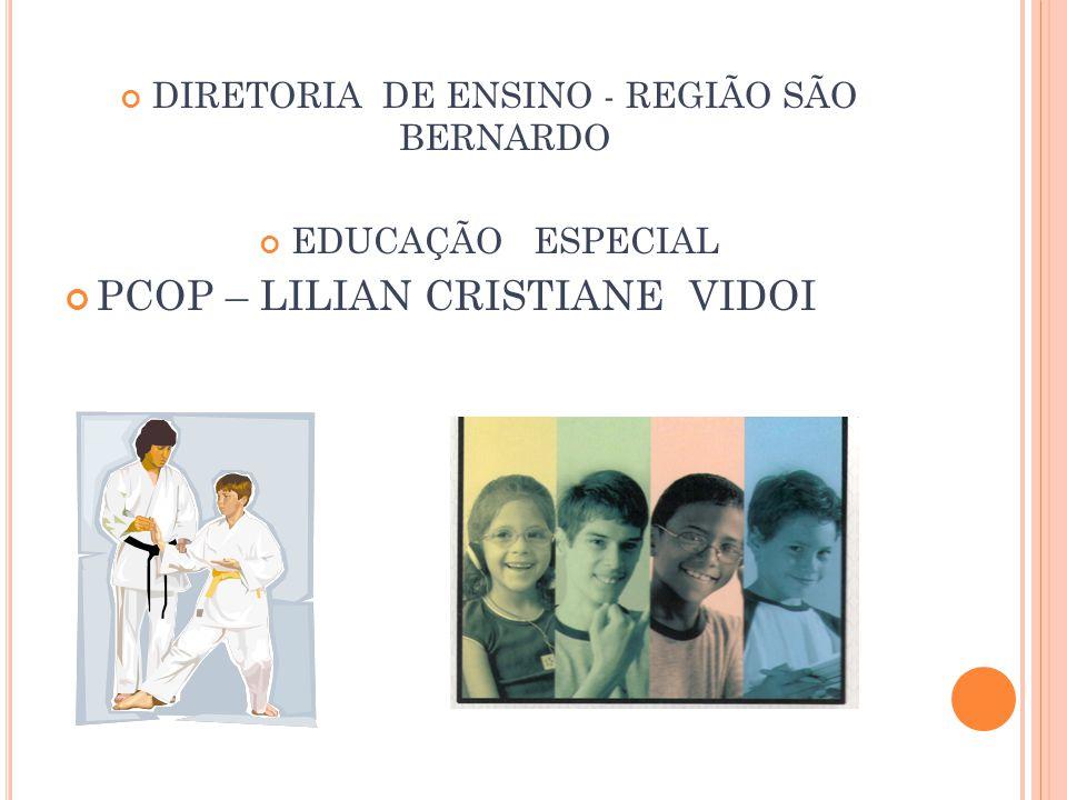 DIRETORIA DE ENSINO - REGIÃO SÃO BERNARDO