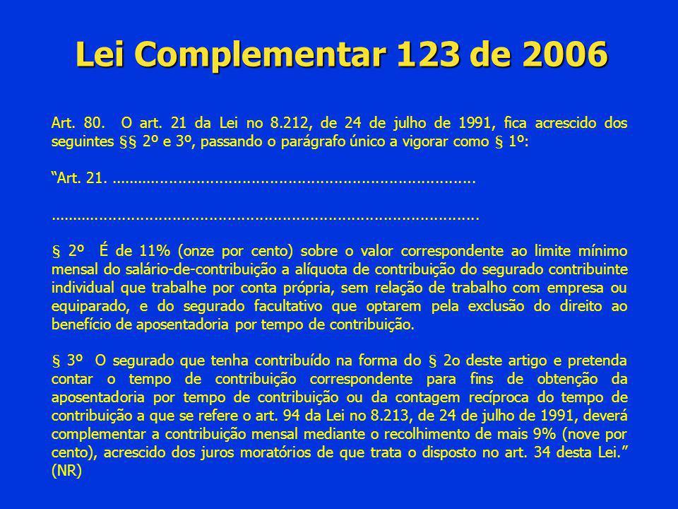 Lei Complementar 123 de 2006