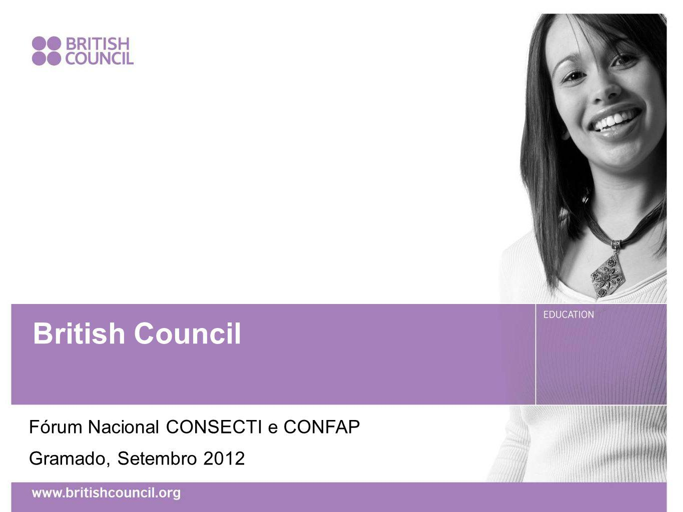 British Council Fórum Nacional CONSECTI e CONFAP