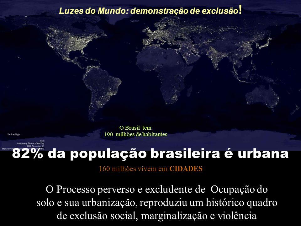 Luzes do Mundo: demonstração de exclusão!