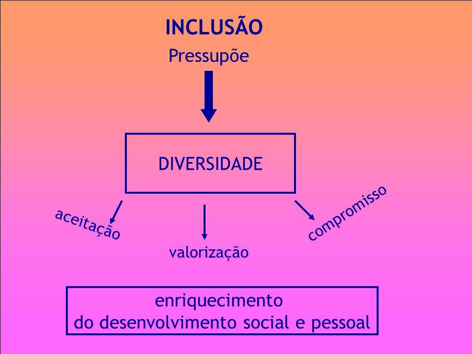 do desenvolvimento social e pessoal