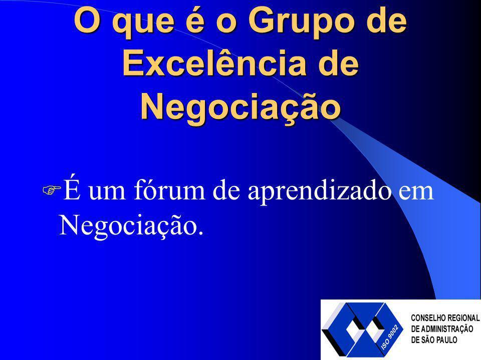 O que é o Grupo de Excelência de Negociação