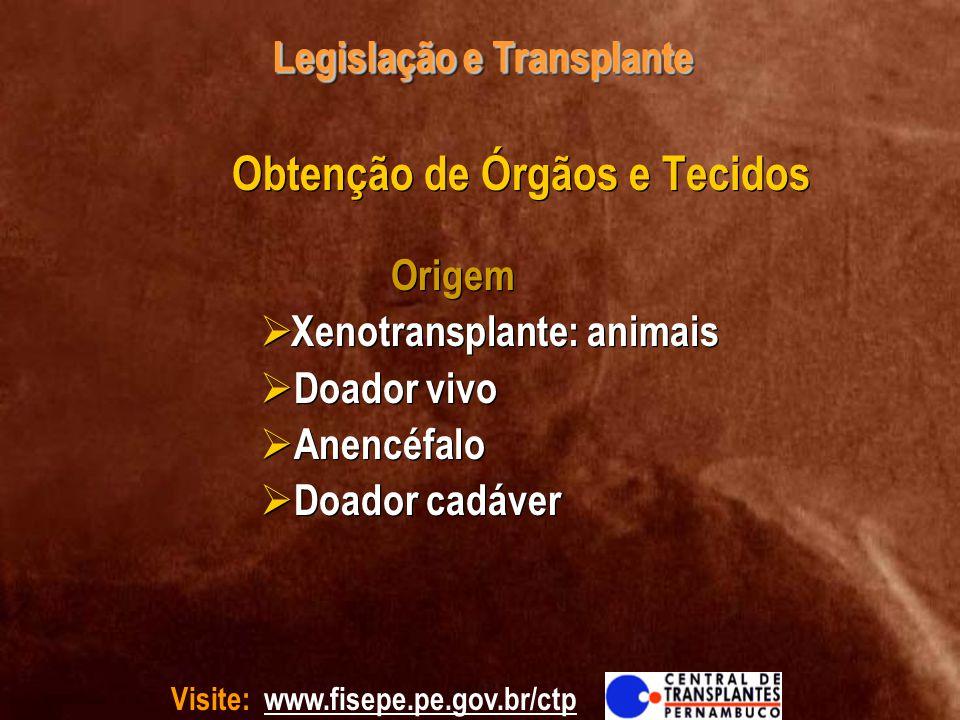 Legislação e Transplante