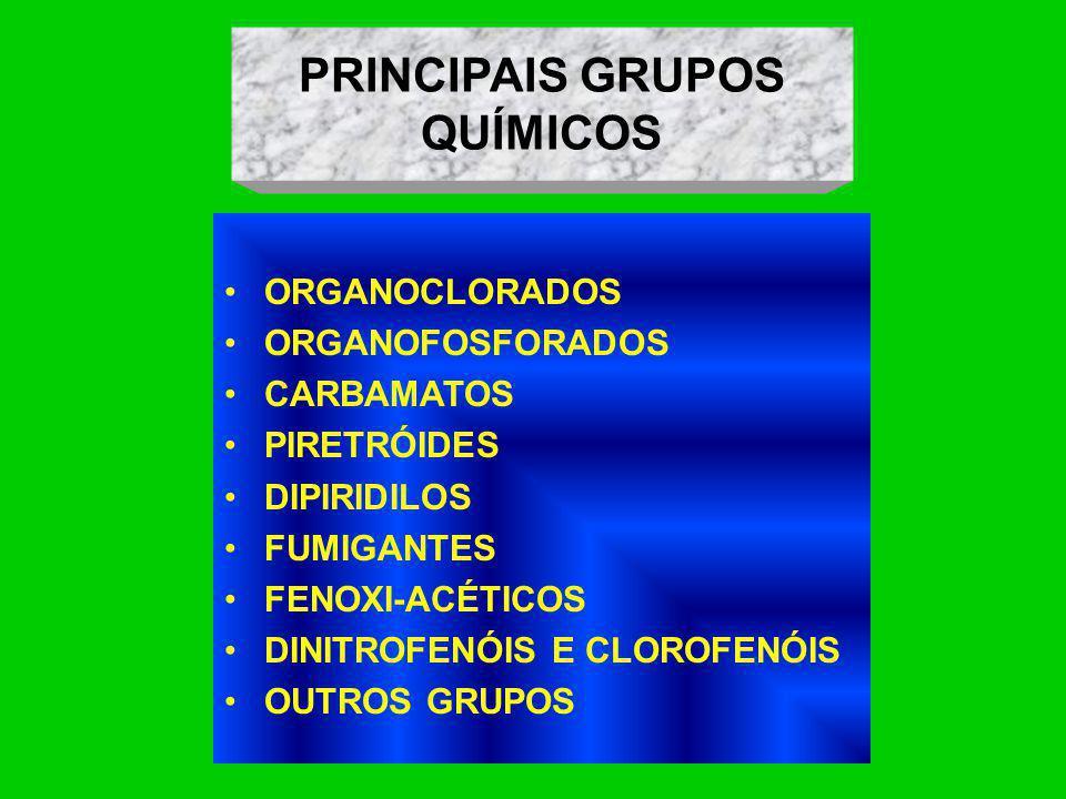 PRINCIPAIS GRUPOS QUÍMICOS