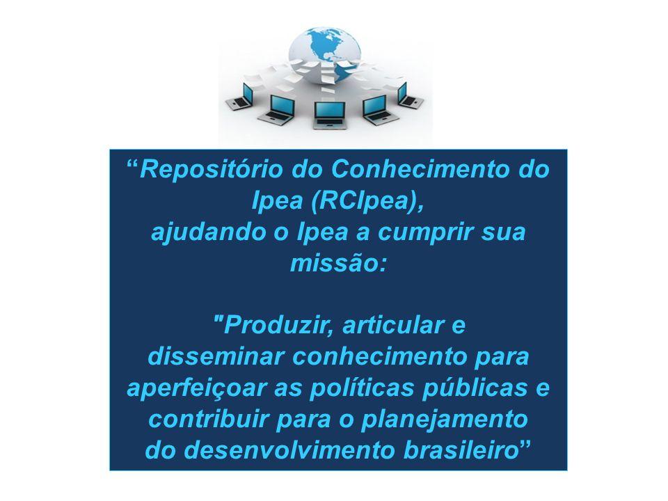 disseminar conhecimento para aperfeiçoar as políticas públicas e