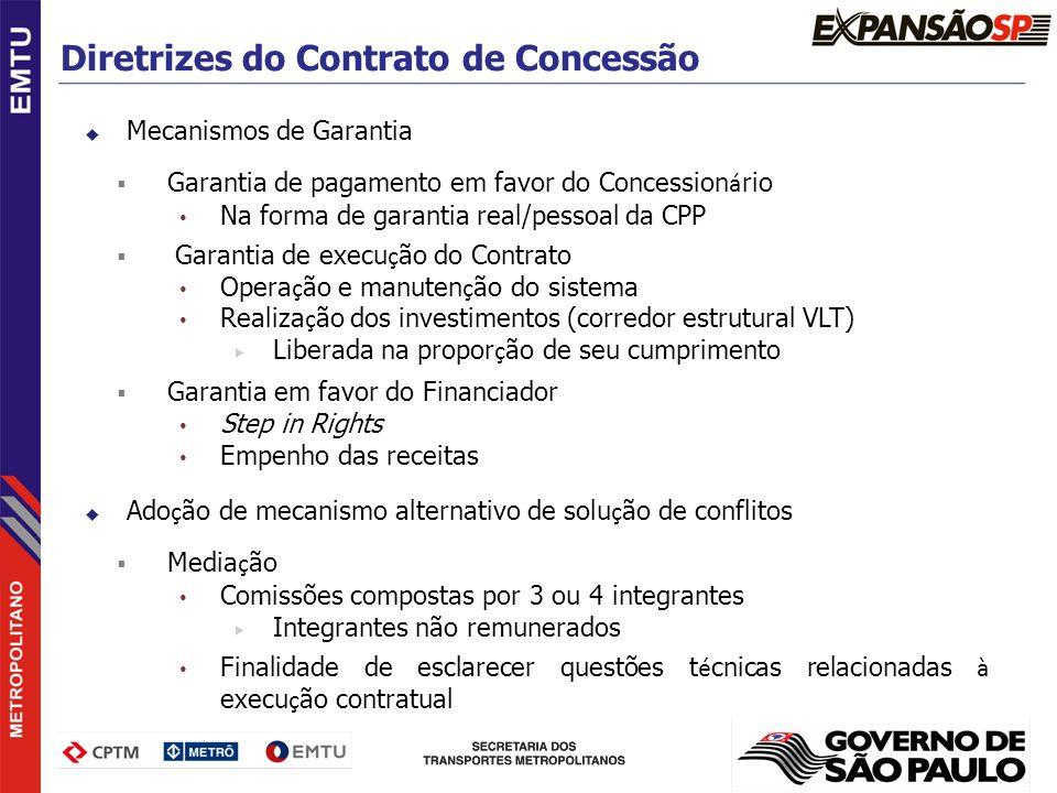 Diretrizes do Contrato de Concessão