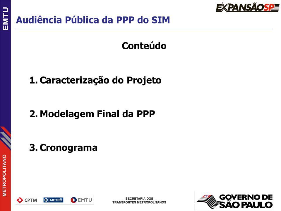 Audiência Pública da PPP do SIM