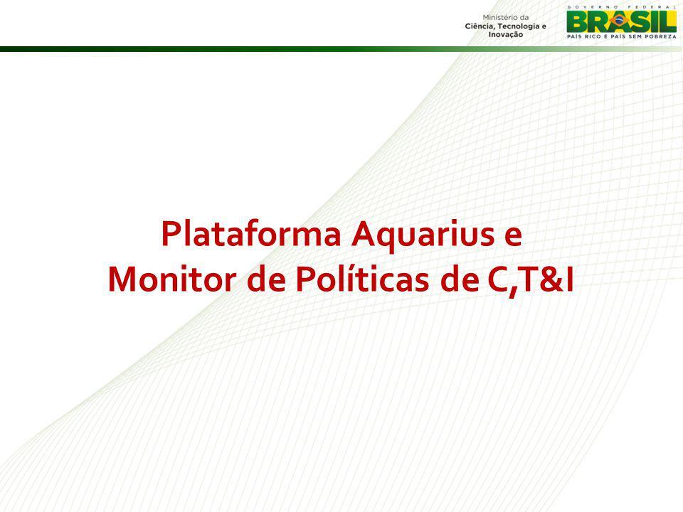 Monitor de Políticas de C,T&I