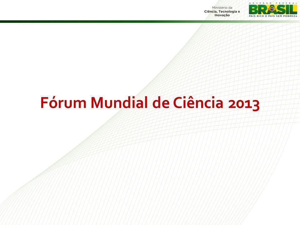 Fórum Mundial de Ciência 2013