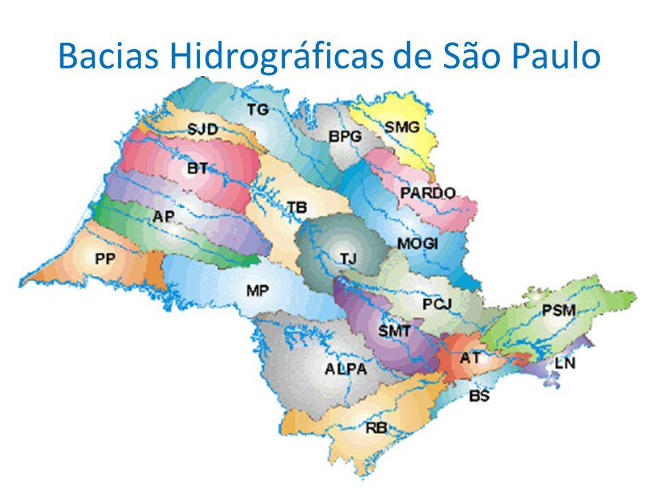 Bacias Hidrográficas de São Paulo