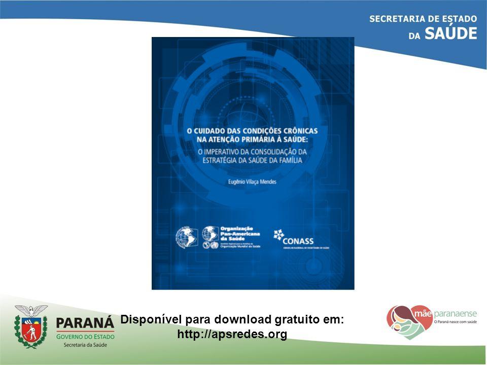 Disponível para download gratuito em: http://apsredes.org