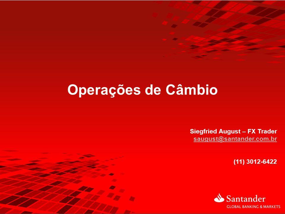 Operações de Câmbio Siegfried August – FX Trader