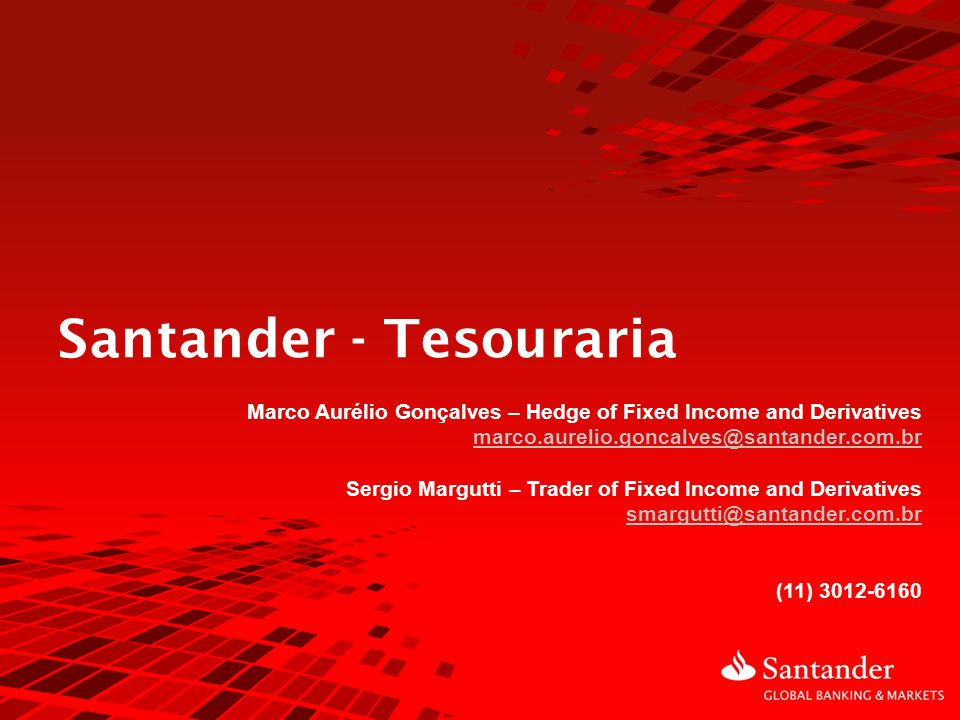 Santander - Tesouraria
