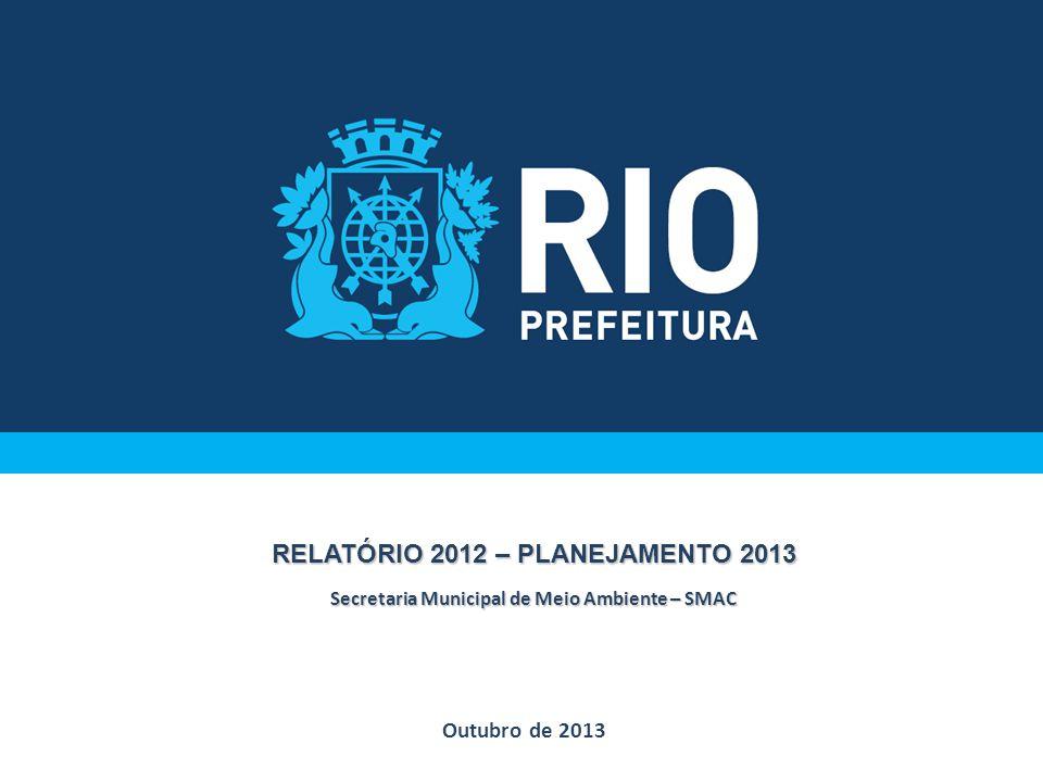 RELATÓRIO 2012 – PLANEJAMENTO 2013