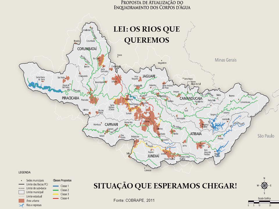 LEI: OS RIOS QUE QUEREMOS SITUAÇÃO QUE ESPERAMOS CHEGAR!