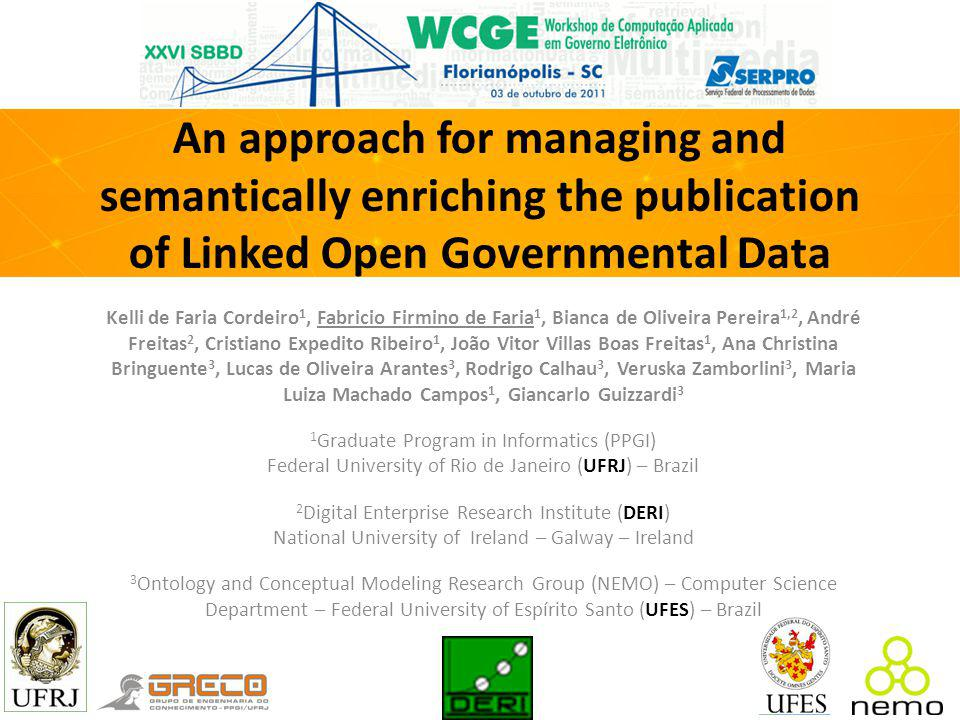 An approach for managing and semantically enriching the publication of Linked Open Governmental Data