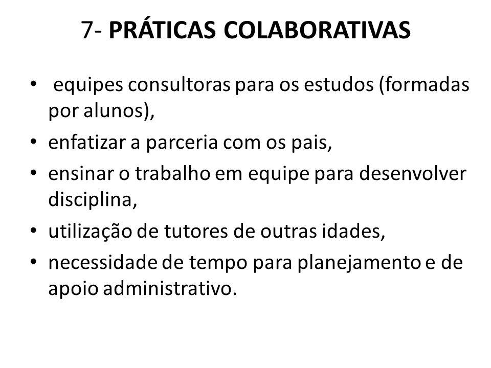 7- PRÁTICAS COLABORATIVAS