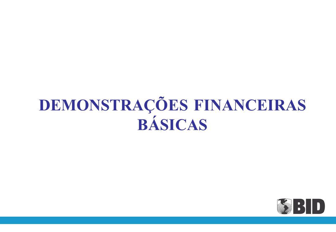 DEMONSTRAÇÕES FINANCEIRAS BÁSICAS