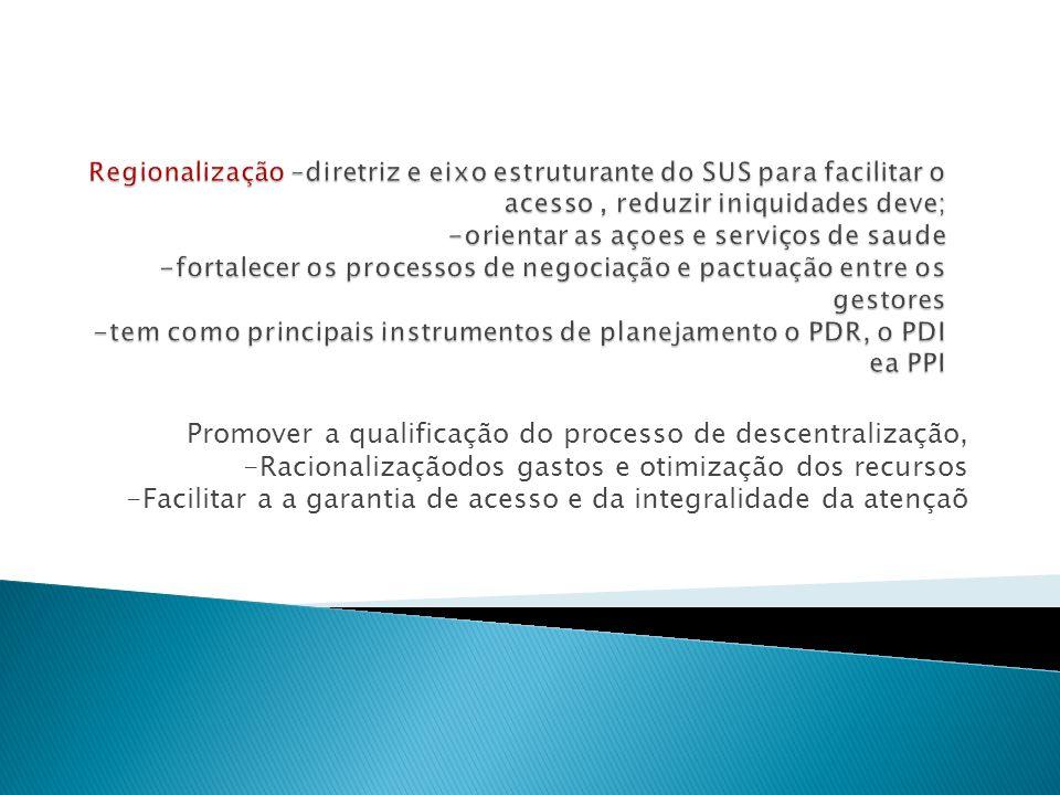 Promover a qualificação do processo de descentralização,