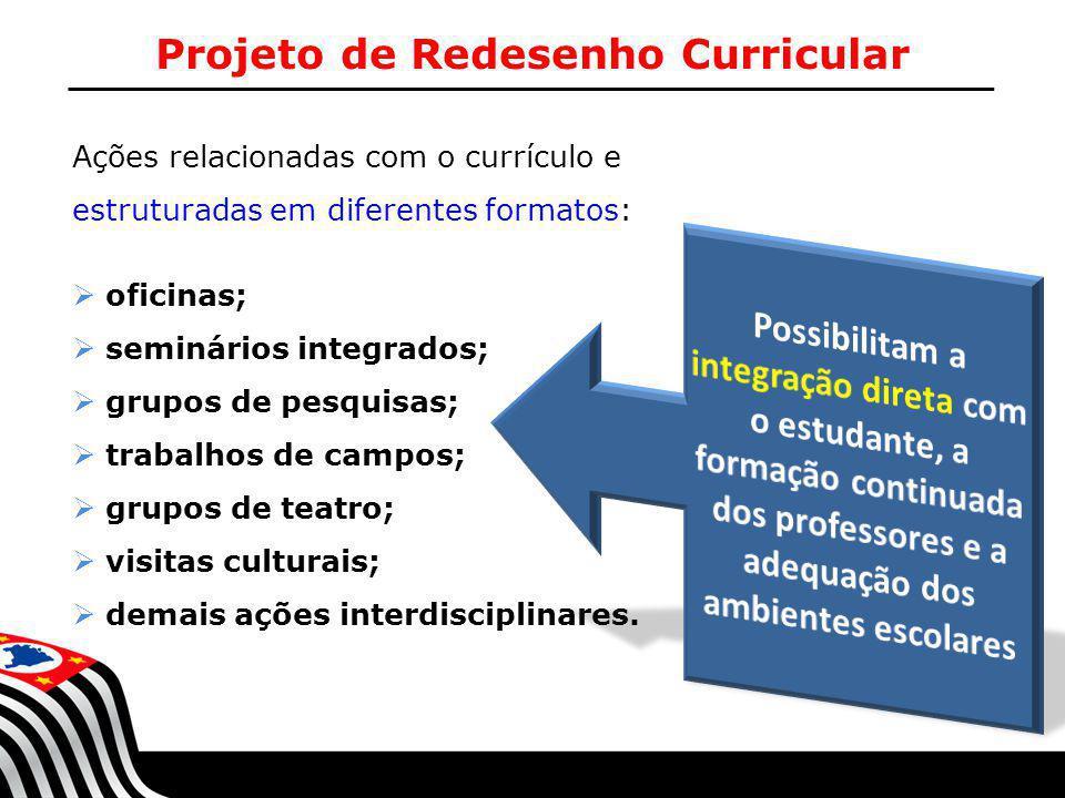 Projeto de Redesenho Curricular