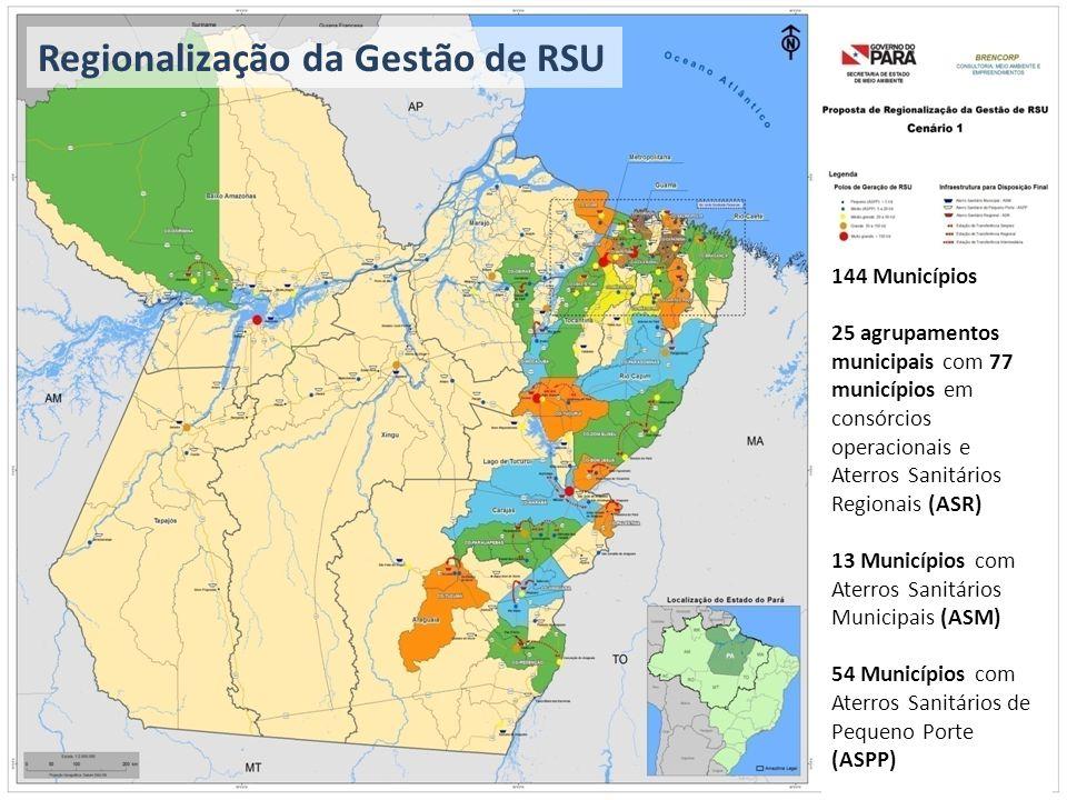 Regionalização da Gestão de RSU