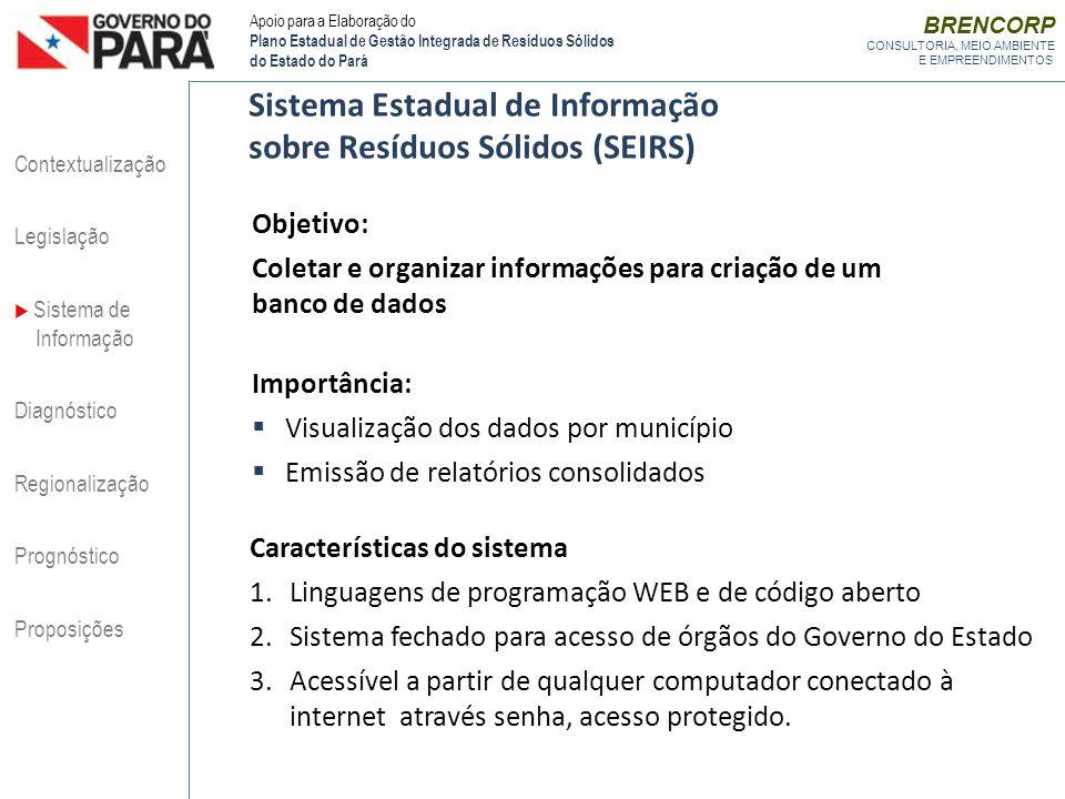 Sistema Estadual de Informação sobre Resíduos Sólidos (SEIRS)