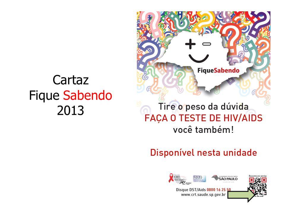 Cartaz Fique Sabendo 2013