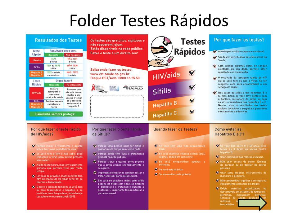 Folder Testes Rápidos