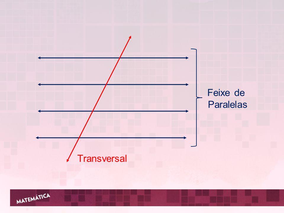 Feixe de Paralelas Transversal