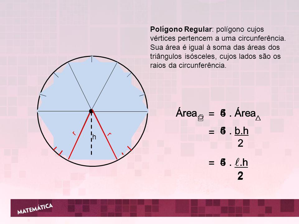 2 ● ● ● Área Área Área = = = 4 . Área 5 . Área 6 . Área = = = 4 . b.h