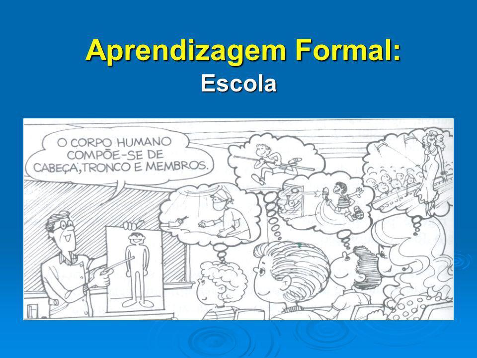Aprendizagem Formal: Escola